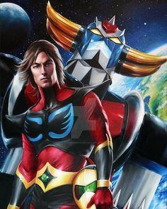 Anime Toon, Mecha Anime, Japanese Robot, Japanese Cartoon, Koji Kabuto, Japanese Superheroes, Robot Cartoon, Retro Robot, Anime Japan