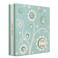 Vintage Retro Style Scrapbook Photo Binder #binder #avery #vintage #Zazzle #jamiecreates #school    $25.95