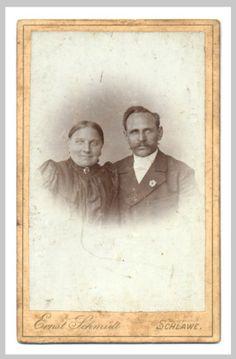 Ernst Schmidt, Schlawe, um 1900