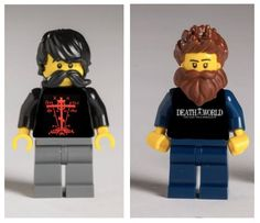 Funny! Lego is making Orthodox Hipster figures :)