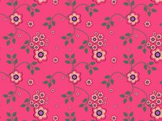 Warm Pink Floral by clairyfairy. Bedding in organic cottons. Cushions in linens. Upholstery in heavy duty twill.