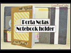 Porta Notas o Documentos | Tutorial DIY Regreso a Clases | Luisa PaperCrafts - YouTube