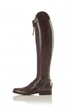 Zip-Front Schooling Boot in Chocolate | Hunter/Jumper | La Mundial ($750)