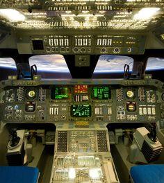 "60rpm: ""jacony: ""classics: ""dubdisco: ""omasayan: "" tumneoxy: "" mnak: "" kml: "" Space Shuttle Orbiter Cockpit (via _Jeremy_) "" """