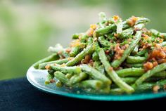 Chinese Dry-Cooked String Beans  from Chinese Cuisine by Huang Su-Huei