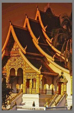 Luang Prabang Temple in Laos