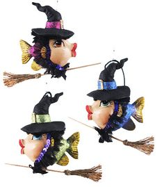 Home decor 4 Seasons - Witch Kissing Fish, $24.95 (http://www.homedecor4seasons.com/witch-kissing-fish/)