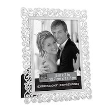 Silver Scroll Jeweled Frame Expressions By Studio Decor Studio Decor Jewel Frames Framed Wedding Photos