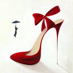 tableau high heels - Obsession
