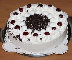 Birthday Cake Delivery, Black Forest Cake, Chocolate Shavings, Vanilla Essence, Vegetarian Chocolate, Cake Pans, Fondant, Cake Recipes, Baking