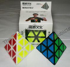 TheCubicle.us : MoYu Pyraminx : Pyraminx (WHITE)