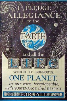 Allegiance to Earth