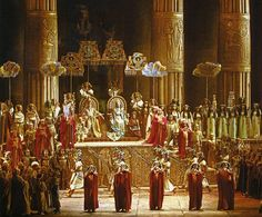 Aida performed by National Theatre Opera directed by Franco Zeffirelli