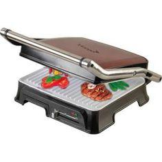 GRILL ÉLECTRIQUE Grill céramique - Harper HGE280CN RED