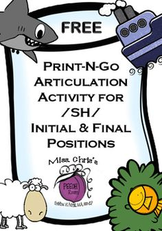 Here is a fun and FREE activity to do with your articulation/speech kiddos. It…