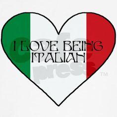I love being Italian