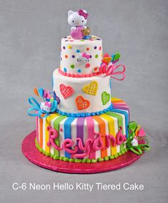 hello kitty tiered cakes - Google Search