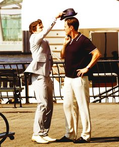 White Collar - Matt, don't you mess my hair!