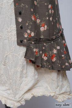 Mathilda frock in Cordelia cream handkerchief linen