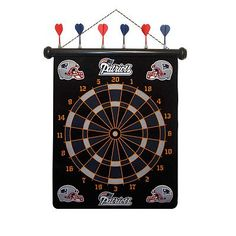 New England Patriots Magnetic Dartboard