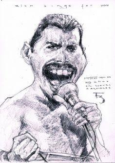 """Consulta mi proyecto @Behance: """"Freddie Mercury - 25 años sin rey"""" https://www.behance.net/gallery/45893415/Freddie-Mercury-25-anos-sin-rey"""