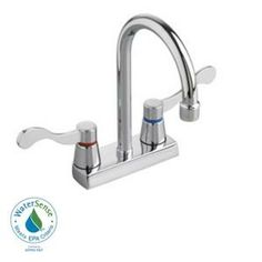 $128 American Standard Heritage Single Hole, spout reach 5, spout height 9.25, The Home Depot