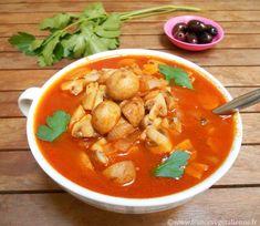 Champignons à la grecque (recette végane) Thai Red Curry, Gluten Free, Keto, Ethnic Recipes, Sauce Tomate, Food, Mushroom Salad, Salads, Cooking Recipes