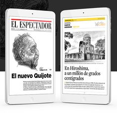 Gabo, en El Espectador app on Behance