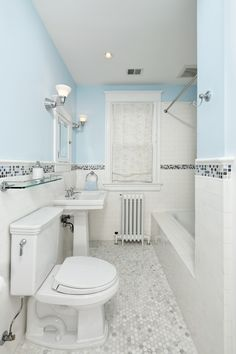 Small Tiled Bathrooms | Small Modern Tile Bathrooms Design small bathroom tile flooring Lawson Brothers Floor Company - www.lawsonbrothersfloor.com #flooring
