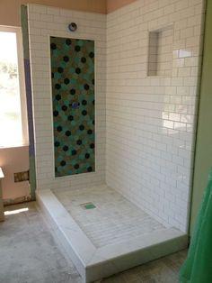 Installation Stories A Hexagon Shower Accent Fireclay Tilehexagonsmaster Bath