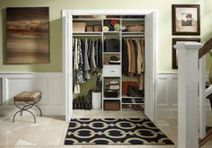 From Shoe Racks, Shelves And Drawers To Hanging Rods And An Umbrella  Holder, This Hardworking Hall Closet By ClosetMaid Can Handle Just About  Anything.