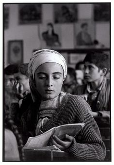 "The village school. ""A Greek Portfolio"" © Costa Manos/Magnum Photos Old Photos, Vintage Photos, Greek Culture, Photographer Portfolio, Famous Photographers, Greek Art, Magnum Photos, Fine Art Photo, Vintage Photography"