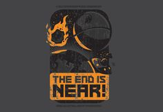 SPLITREASON.COM :: The End is Near t-shirt