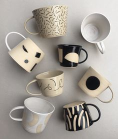 One of lifes greatest pleasures is buying a new mug; its an affordable and (always) justifiable kitchen essential. Invest in matching patterns or mix it up for a unique collection. Click through to explore more mugs on Trouva.
