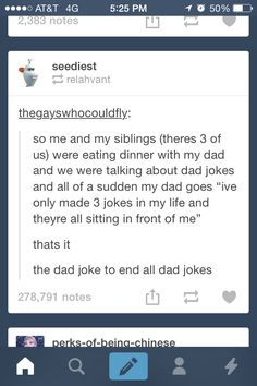 the dad joke that beats all dad jokes... Oh my word..