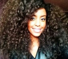 Lots of hair! Natures Hair Butters are just that, chemical free, natural and best of all, great for up-dos and protective styling, promotes hair growth and length. http://www.bareindulgence.NET