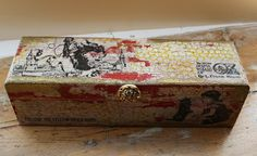 altered pencil or wine box
