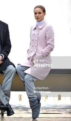 BLACK SWAN Natalie Portman's Pink Coat Nina Sayers wool winter ...