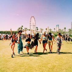 That moment you arrive to Coachella...#priceless.