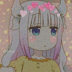 Kanna Kamui, loli fofa, Kobayashi-san Chi no Maid Dragon Gothic Anime, Anime Gifs, Anime Oc, Kobayashi San Chi No Maid Dragon, Miss Kobayashi's Dragon Maid, Anime Group, Cute Anime Character, Cute Anime Pics, Anime Profile