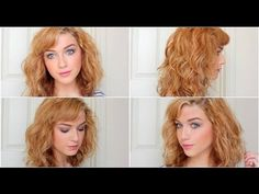 How To: Curly Bob by LoveShelbey #curlybob #lob
