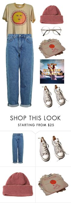 """Untitled #3689"" by lbenigni ❤ liked on Polyvore featuring Topshop, Converse, CA4LA and ZeroUV"