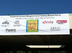 Atlanta Parent Magazine block party