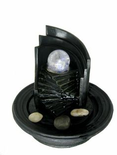 Indoor fountains  - Pin it :-) Follow us, CLICK IMAGE TWICE for Pricing and Info . SEE A LARGER SELECTION of indoor fountains at http://azgiftideas.com/product-category/indoor-fountain/  - gift ideas , home decor   -  rtistic Design with Color LED Lights and Glass Ball Tabletop Indoor LED Water Fountain