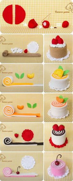 Try to make them with washcloth as little gifts