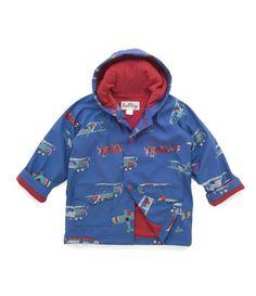 Hatley Flying Bears Boy's Raincoat