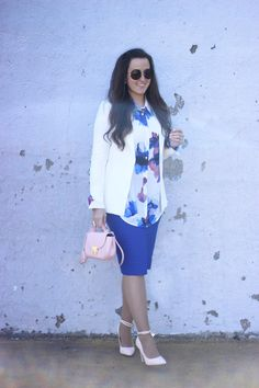 The Style Addition: FLORAL BLOUSE