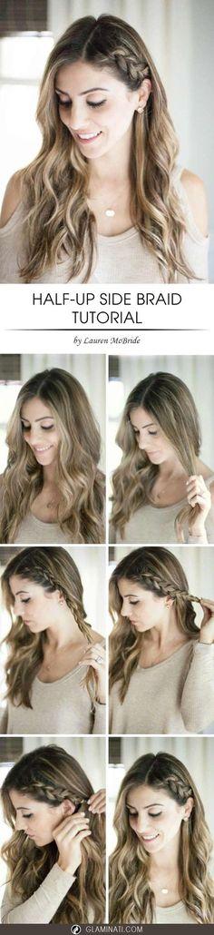 Easy DIY Wedding Hairstyles For Long Hair Bridesmaid Hairstyles - Bridesmaid hairstyle diy
