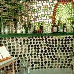03 Taberna con botellas de vidrio - Casas con botellas Construcciones ecologicas