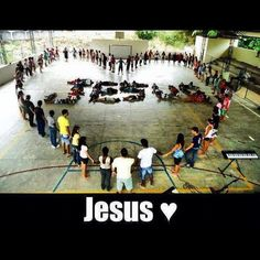 we should do this at Youth camp cute pic